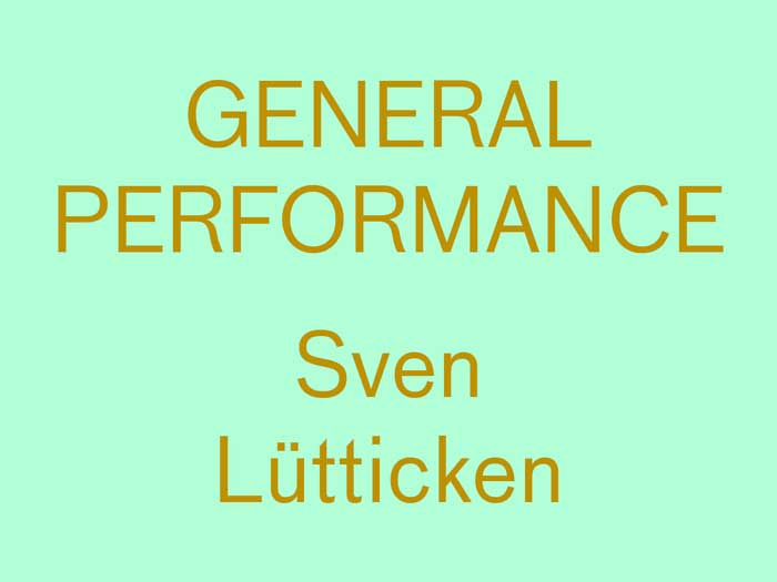 General Performance, Reading