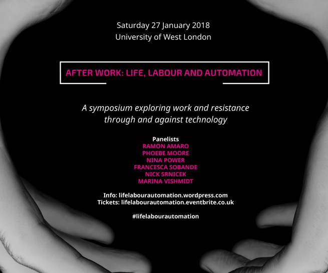 After Work: Life, Labour and Automation