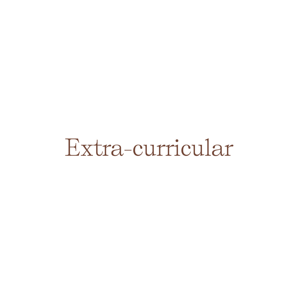 Extra-Curricular book launch
