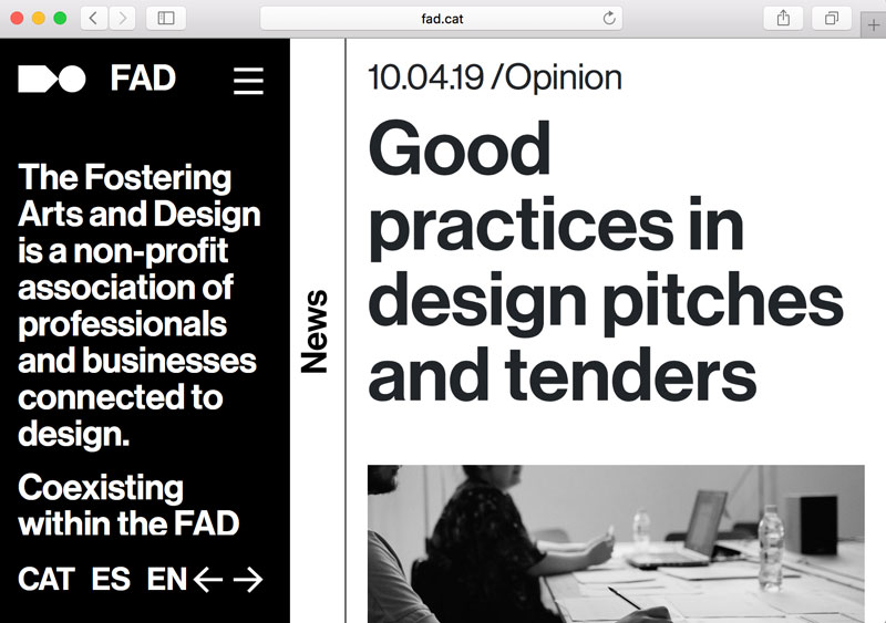Good practices in design pitches and tenders
